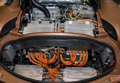 Evora 414e Hybrid Engine Bay
