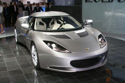 The Lotus Evora At 2008 British International Motor Show